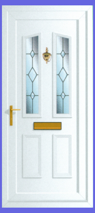 Windsor Bevel Cluster Door