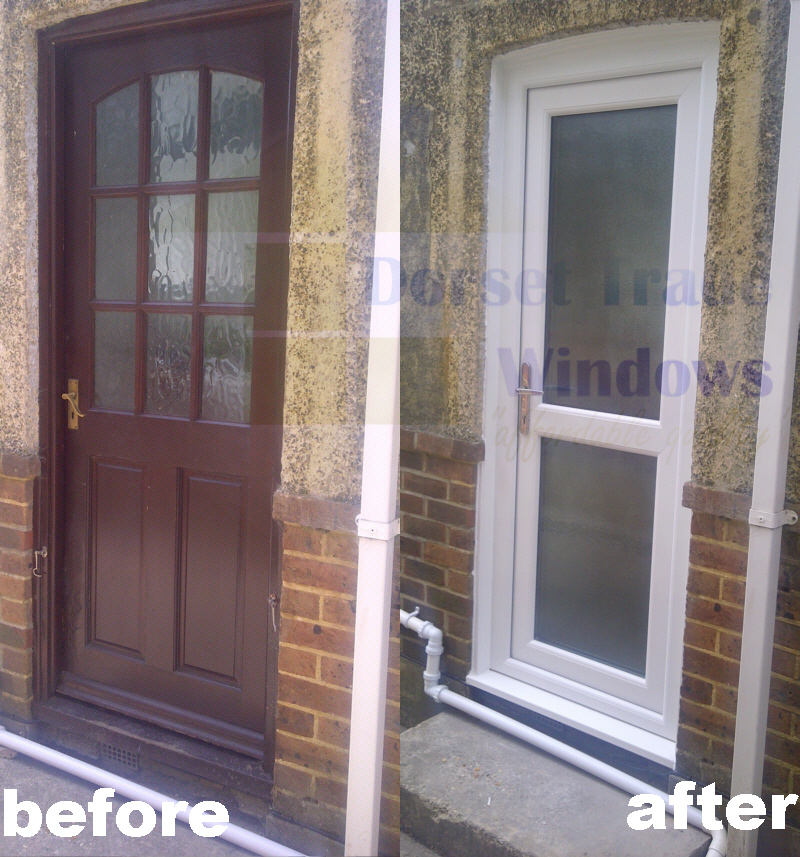 suppliers and installers of back residential doors in poole
